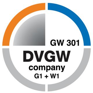 DVGW company G1 + W1 GW 301