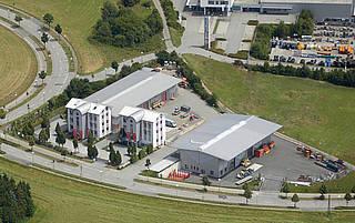 Firmengebäude PRO BAU im Rößlerhofweg 1 Passau