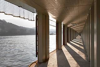 Ingenieurbau Projekt Hafen an der Donau