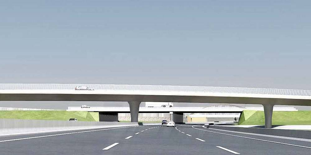 Umbau Autobahnkreuz Fürth-Erlangen